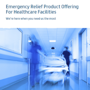 Emergency Relief Product Offerings for Temporary Healthcare Facilities