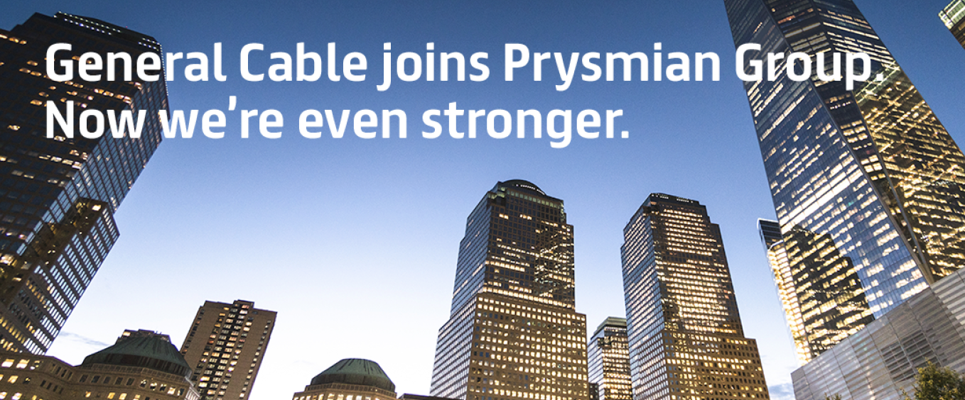 General Cable and Prysmian Group Join Forces