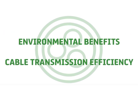 Environmental Benefits, Cable Transmission Efficiency